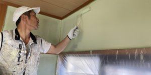 和室壁塗装@高槻市下田部町