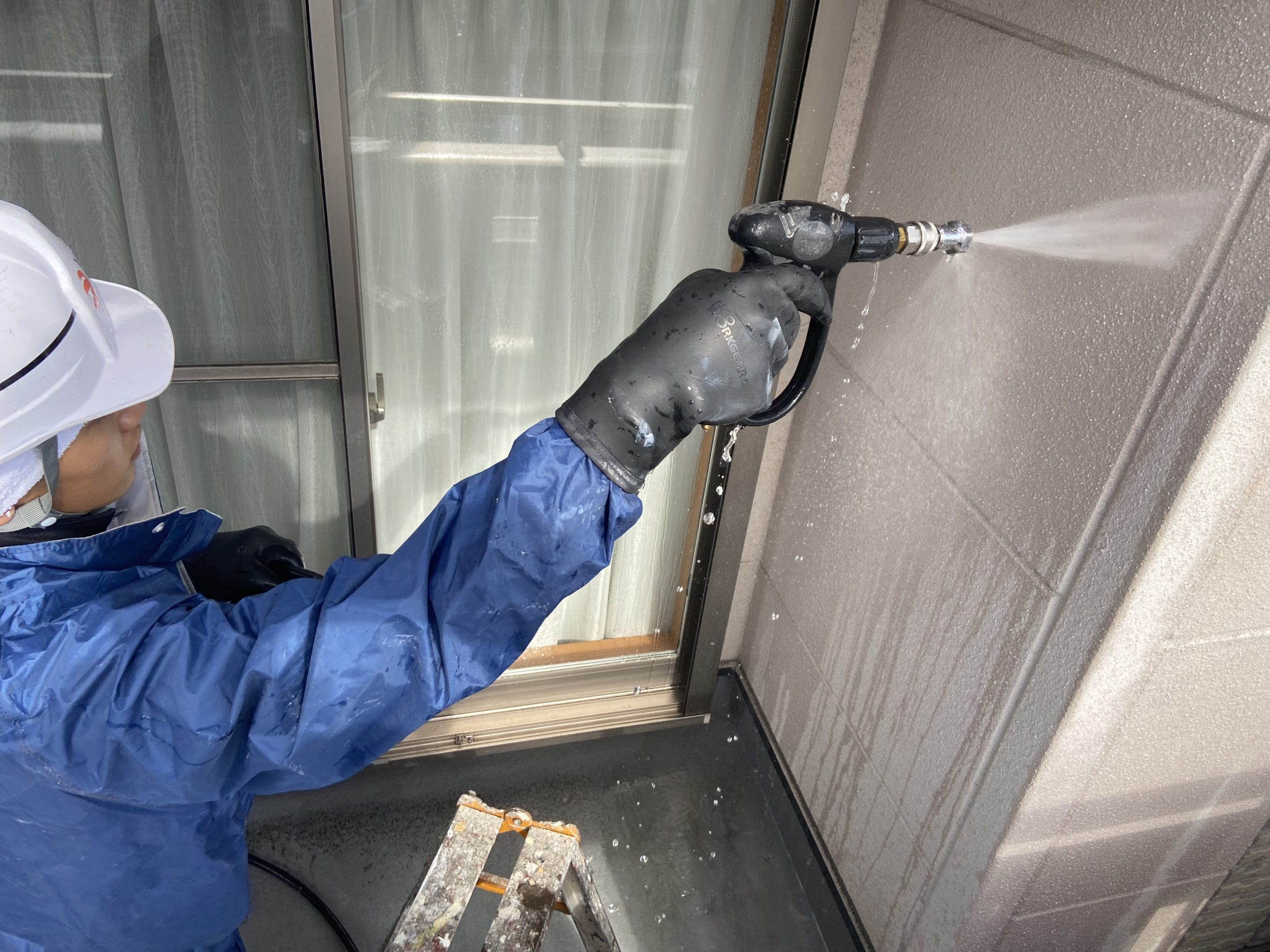 茨木・高槻の外壁屋根塗装防水YJリフォーム高圧洗浄@茨木市上泉町