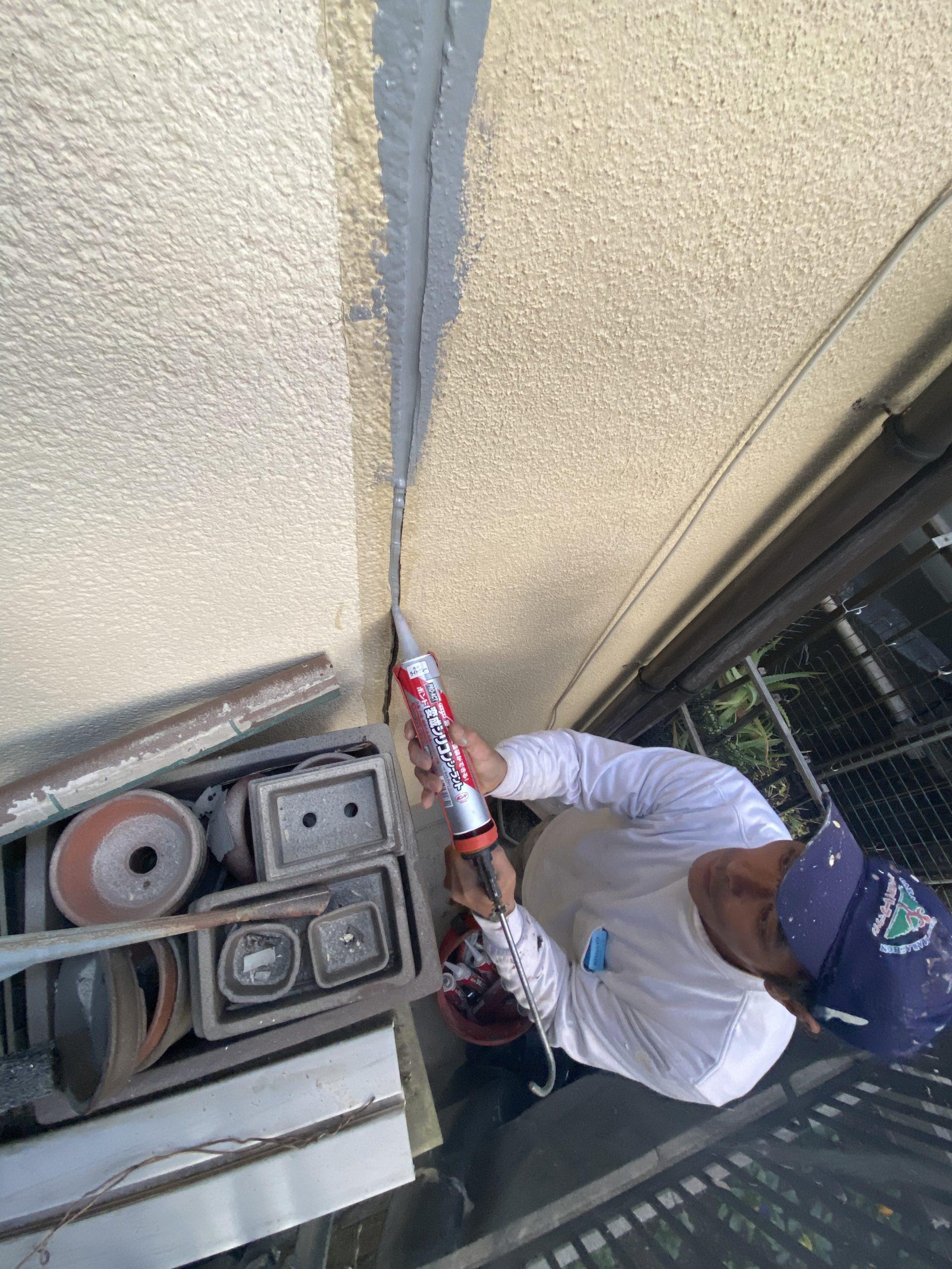 茨木・高槻の外壁屋根塗装防水YJリフォームコーキング補修@高槻市土橋町