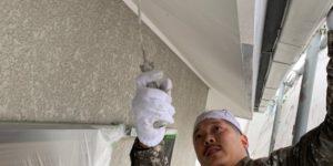 茨木・高槻の外壁塗装YJリフォーム軒天塗装@茨木市南春日丘