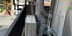 茨木・高槻の外壁塗装YJリフォーム外壁塗装下塗り@吹田市山田