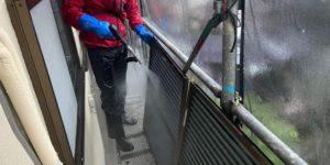 茨木・高槻の外壁塗装YJリフォーム高圧洗浄@茨木市上泉町